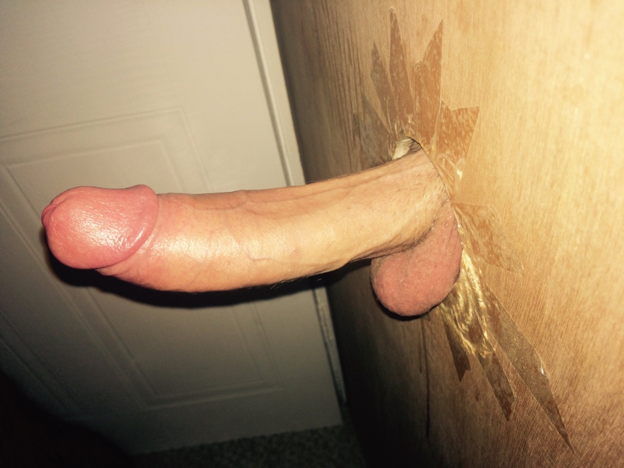 Big Cock Hanging Out Of A Gloryhole