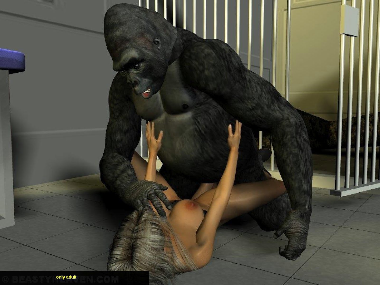 Woman Fucking A Chimp